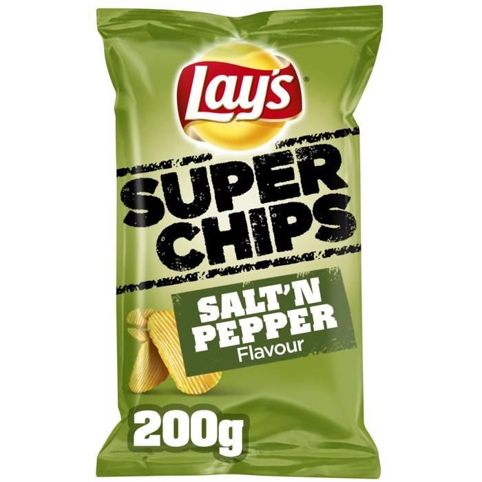 Lay's Superchips salt'n pepper (200g)