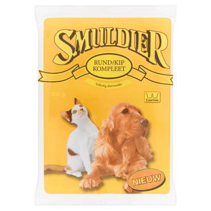 Smuldier Rund/Kip Kompleet 350g (350g)