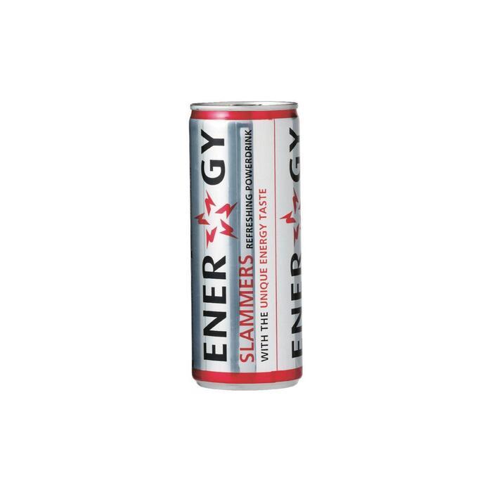 Slammers Energy drink blik 24 x 25 cl (250ml)