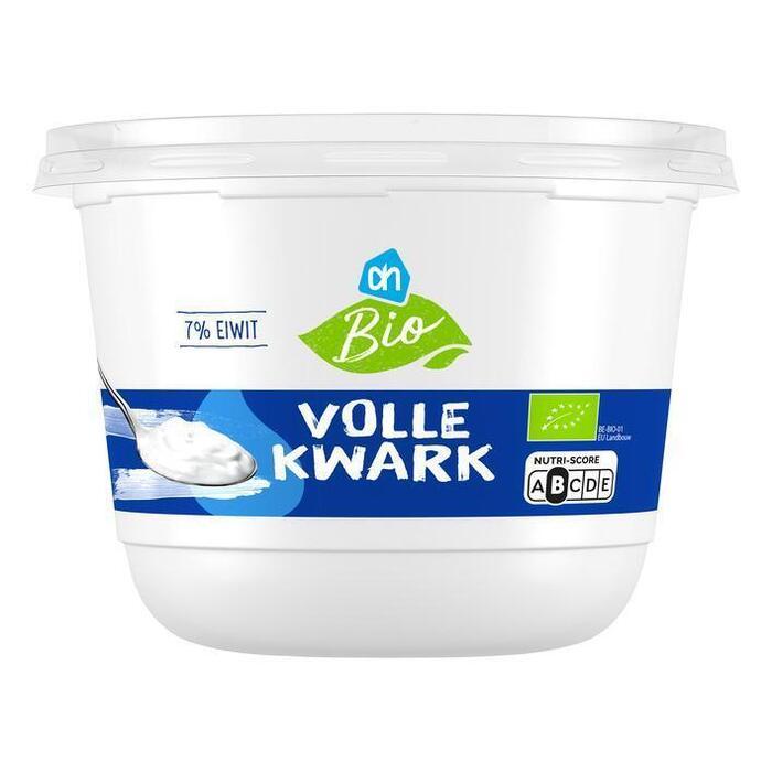 Biologische Volle kwark (bak, 500g)