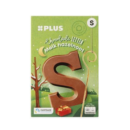 Chocoladeletter Hazelnoot willekeurig (135g)