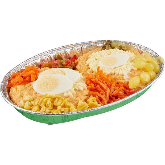 Zalm salade (500g)
