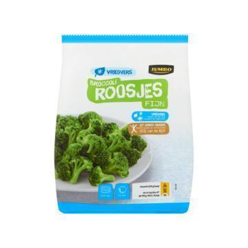 Jumbo Broccoliroosjes Fijn Vriesvers 450 g (450g)