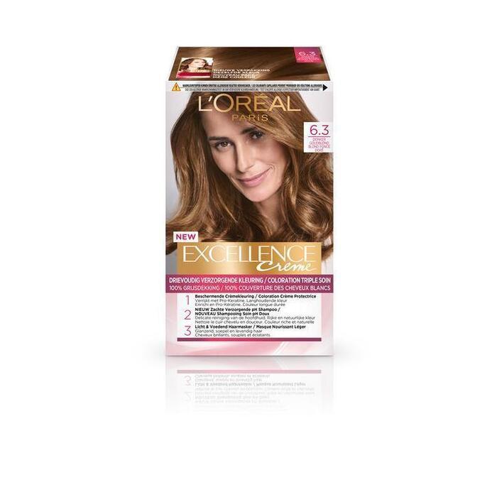 L'Oréal Excellence crème 6.30 (176ml)