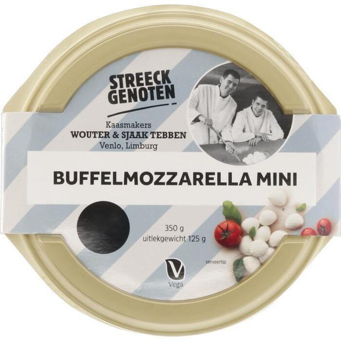 Streeckgenoten Buffelmozzarella bocconcini (125g)