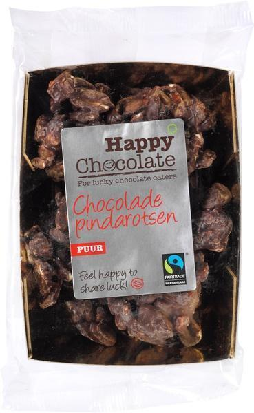 Chocolade pindarotsen puur (zak, 150g)