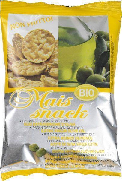 Mais snack olijfolie (50g)