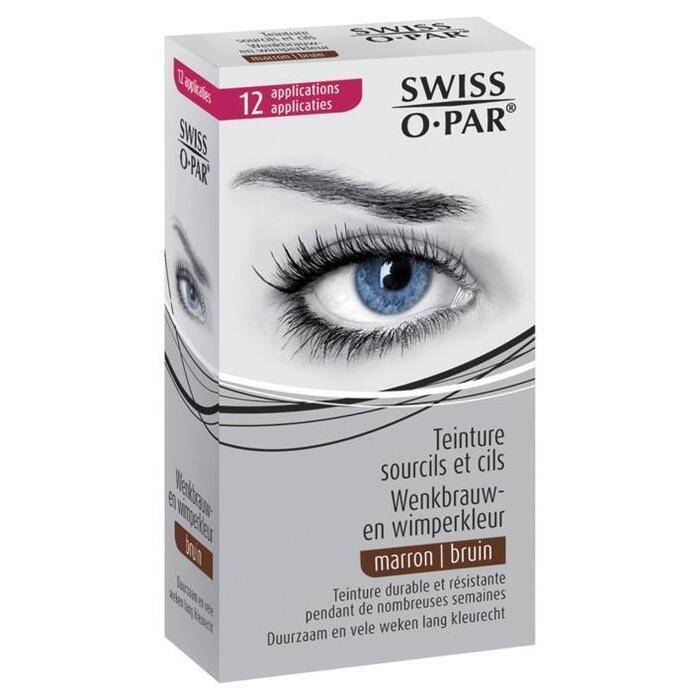 Swiss O-Par Wenkbrauw en wimperverf bruin