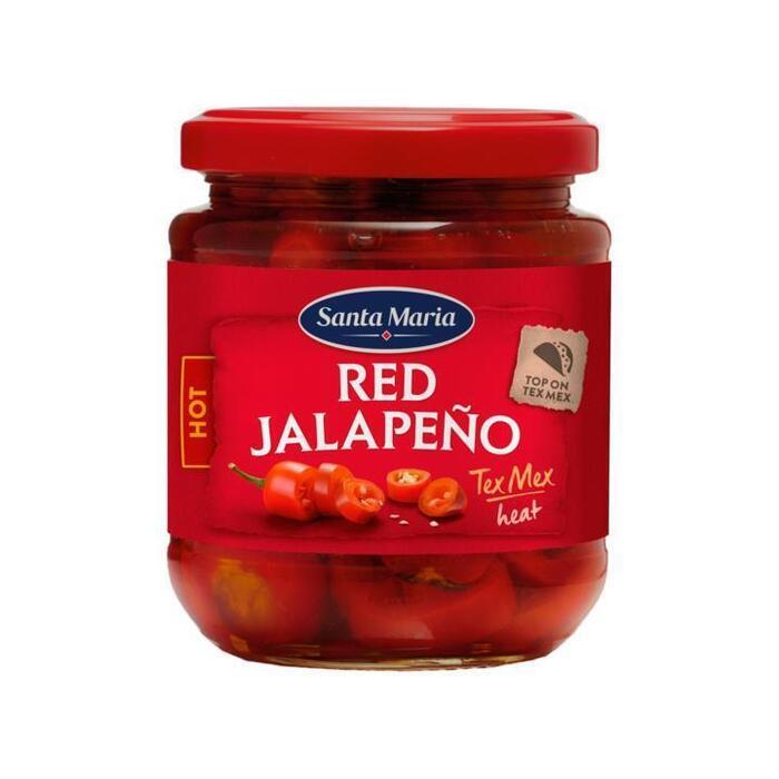 Red Jalapeńo HOT (pot, 215g)