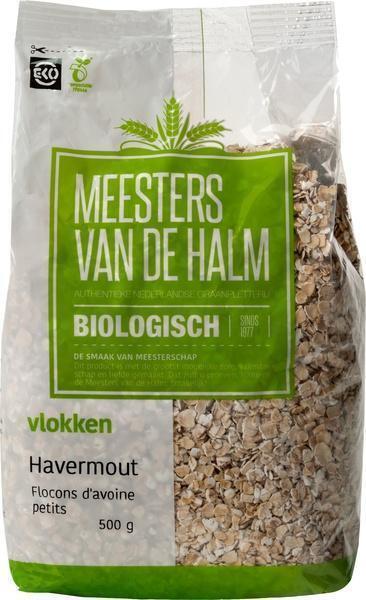 Biologische Havermout (zak, 500g)