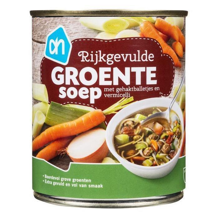 AH Rijkgevulde groentesoep (30cl)