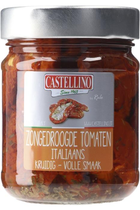 Castellino zongedroogde tomaten 180g pot (180g)