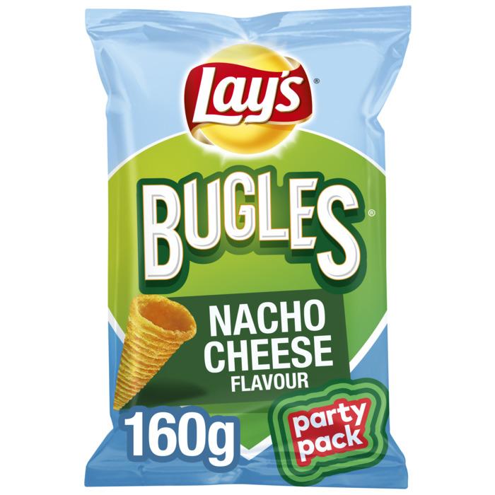 Lay's Bugles Maissnack Nacho Cheese Flavour 160g (160g)