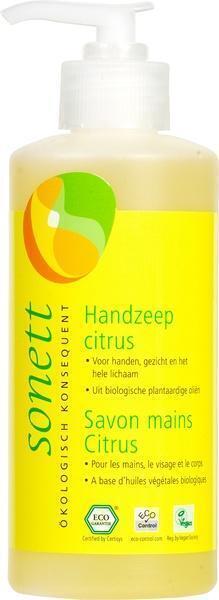 Handzeep citrus met pompje (30cl)