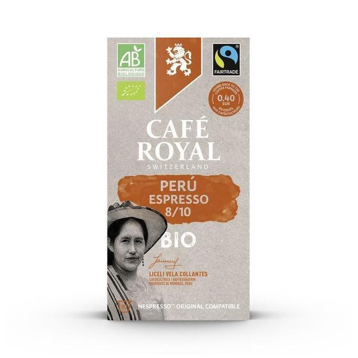 Café Royal Peru espresso nespresso