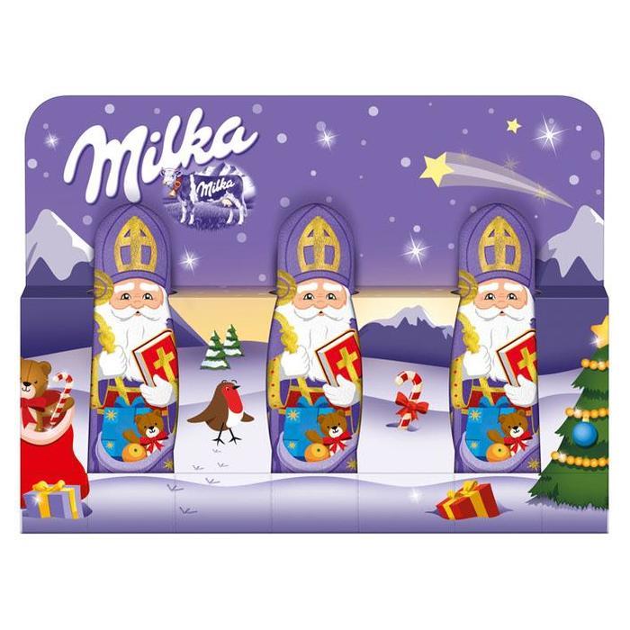 MILKA CHOCOLADE HOLLE FIGUUR MILK NICHOLAS 45 GR (45g)
