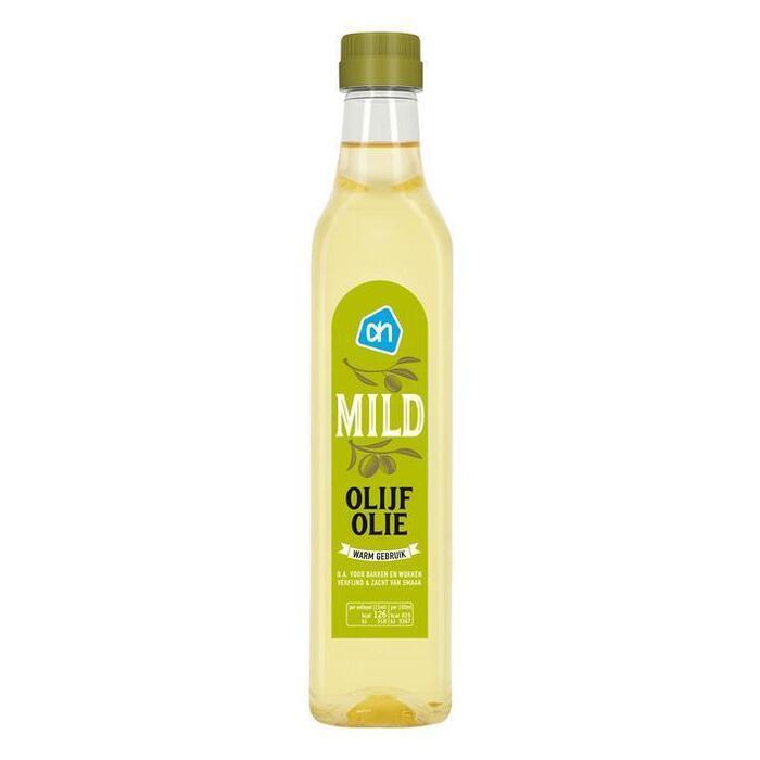 Olijfolie mild (petfles, 0.5L)