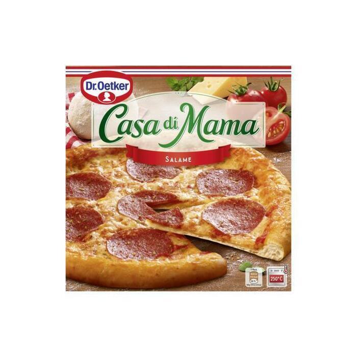 Dr. Oetker Casa di Mama Pizza Salame 390 g (Stuk, 390g)