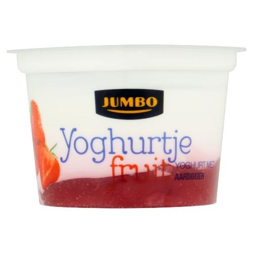 Jumbo Yoghurtje Fruit met Aardbeien 200g (200g)