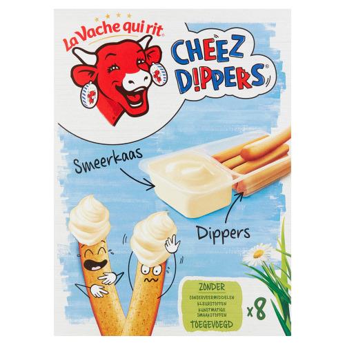 LVQR Cheez Dippers Naturel 280gr (doos, 35g)