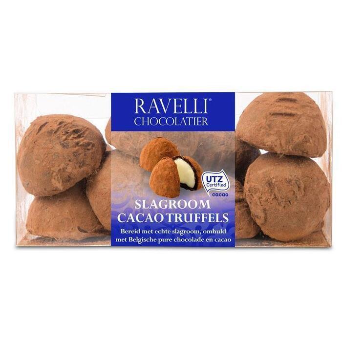 Ravelli Slagroom cacaotruffels (11 × 200g)