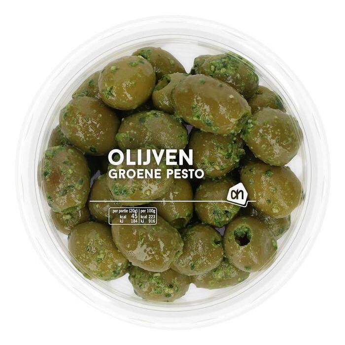 AH Olijven groene pesto (140g)