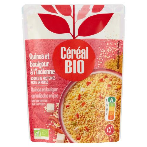 Céréal Bio Quinoa en Bulgur op Indische Wijze 220 g (220g)