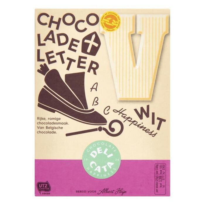 Chocoladeletter Wit (r, 100g)