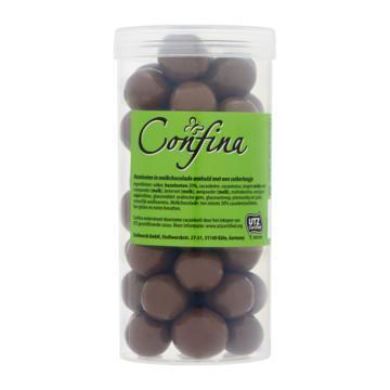 Hazelnoten in melkchocolade (Stuk, 200g)