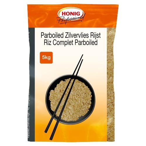 Honig Professional Rijst Parboiled Zilvervlies 5 kg Zak (5kg)