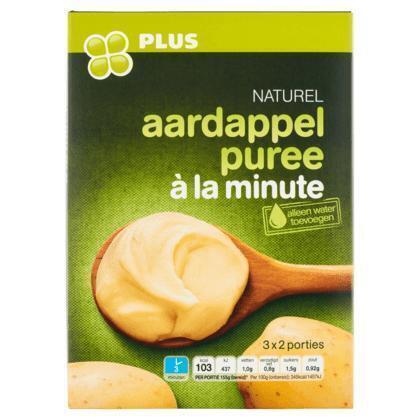 Naturel Aardappelpuree a la minute (doos, 180g)