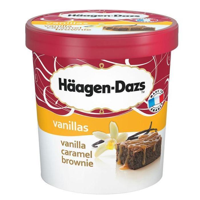 Häagen-Dazs Vanille caramel brownie (0.5L)