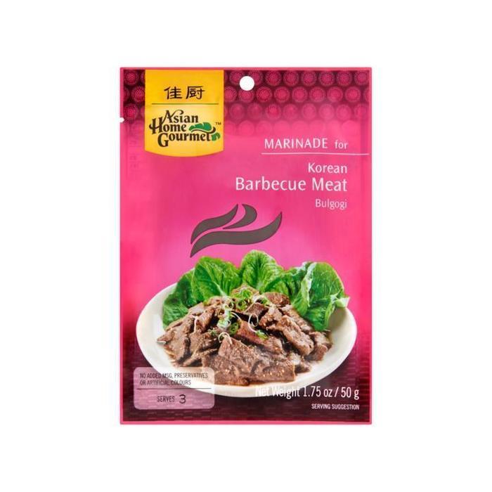 Asian Home Gourmet Marinade for Korean Barbecue Meat Bulgogi 50g (50g)