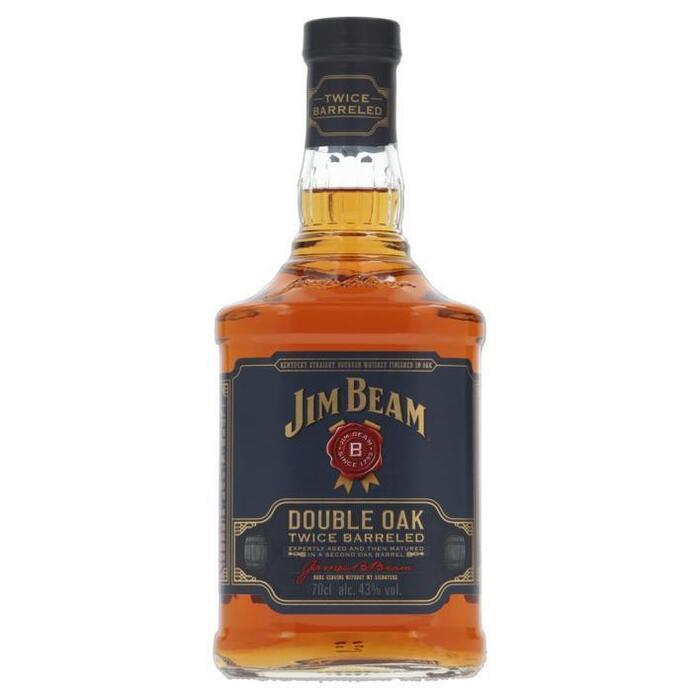 Jim Beam Double Oak (rol, 0.7L)