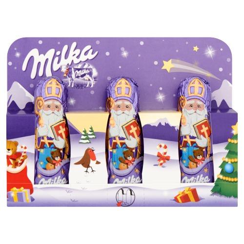 MILKA CHOCOLADE HOLLE FIGUUR MILK NICHOLAS 45 GR (15g)