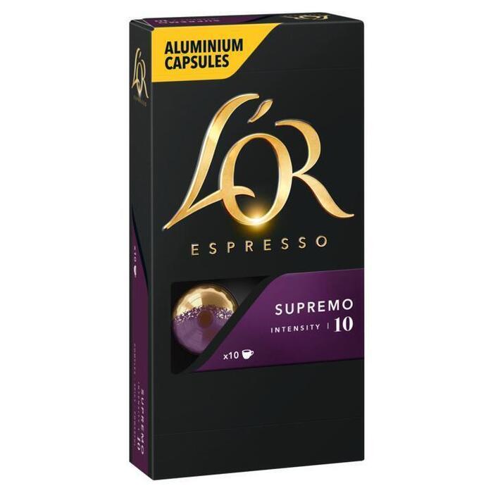 Koffiecups supremo (10 × 52g)