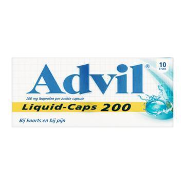 Advil Liquid-Caps 200 mg Ibuprofen 10 Stuks (10 st.)