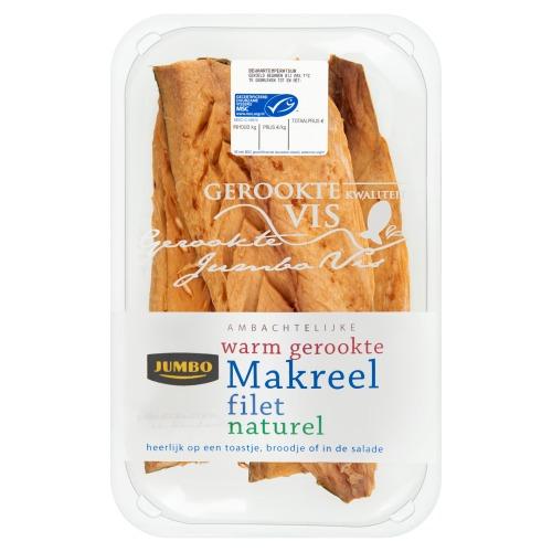 Jumbo Ambachtelijke Warm Gerookte Makreel Filet Naturel ca. 275g