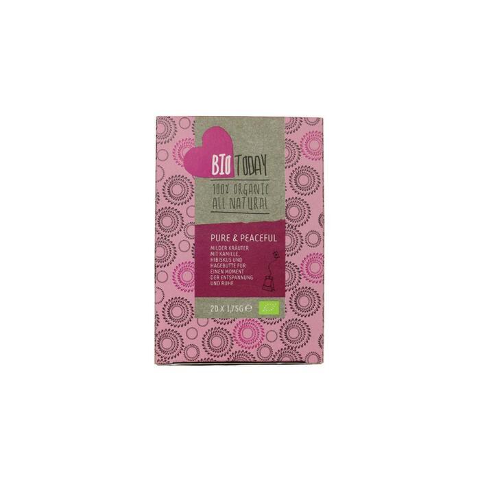 Pure & peaceful tea (zakjes, 20 × 1.75g)