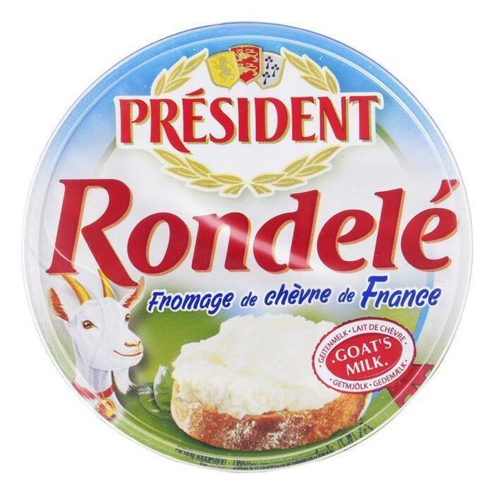 PRESIDENT RONDELE CHEVRE 100G (100g)