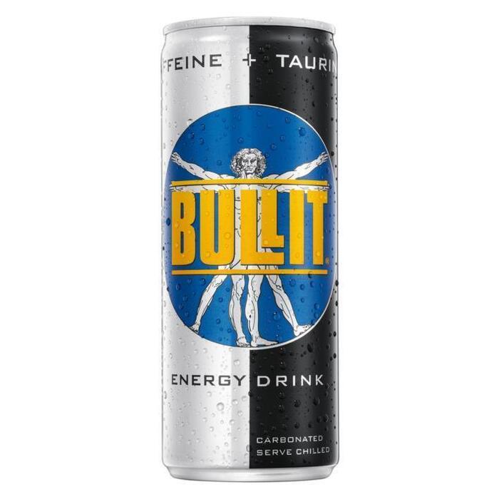 Bullit Energy Drink (rol, 25 × 250ml)