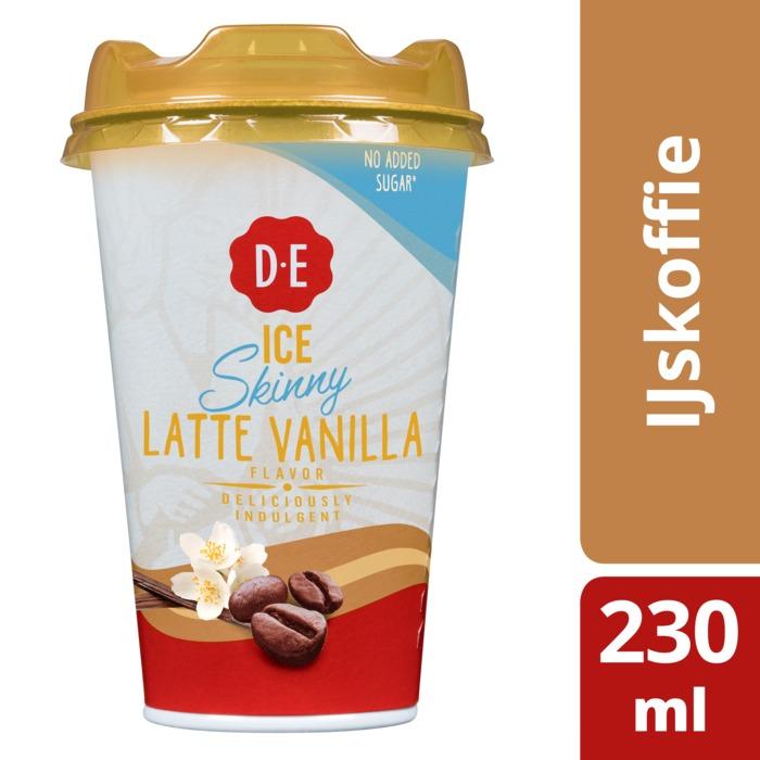 Douwe Egberts Ice Skinny Latte Vanilla Flavour 230 ml (230ml)