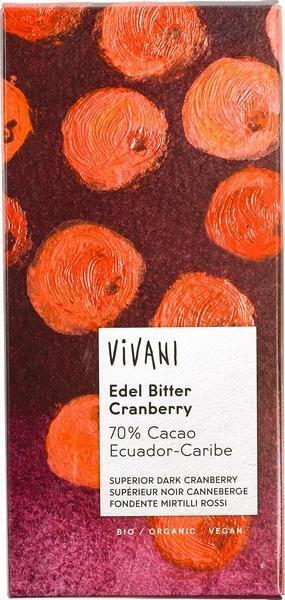 Vivani Ecuador edel bitter cranberry (100g)