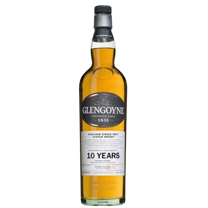 Glengoyne Single malt Scotch whisky 10 years (rol, 0.7L)