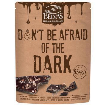 Don't be afraid of the dark chocobrokken (120g)