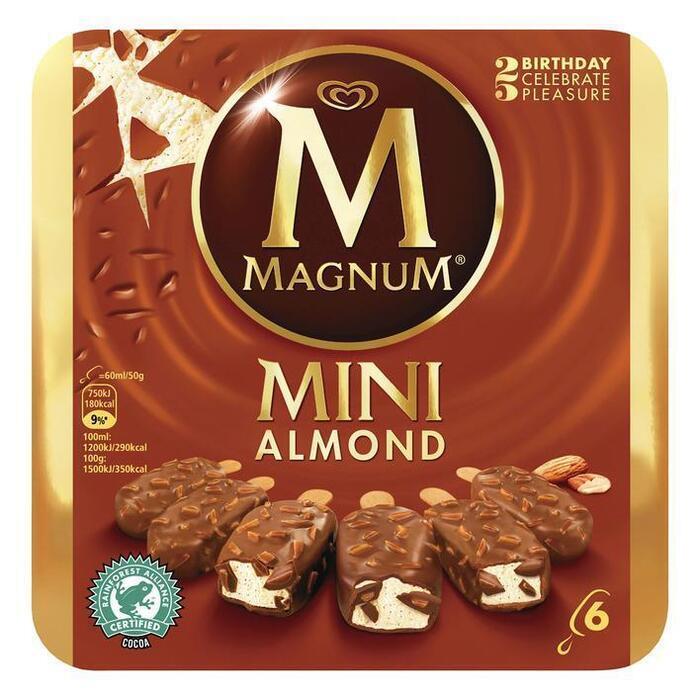 Magnum Mini Almond (Stuk, 6 × 36cl)