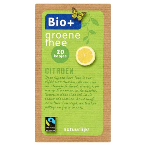 Groene thee citroen (Stuk, 20 × 2g)