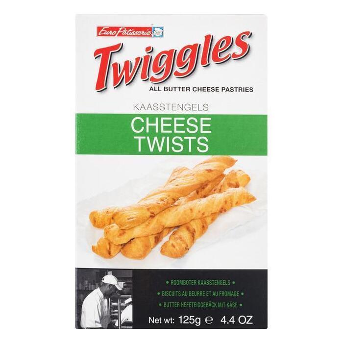 Twiggles snack kaas (125g)