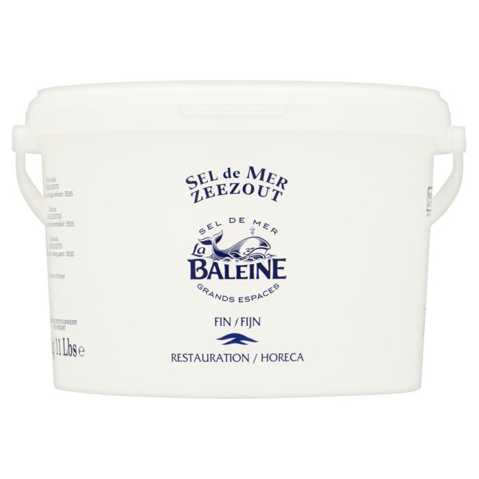 Fijn zeezout emmer (5kg)