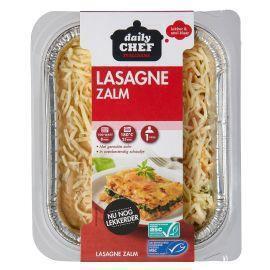 Lasagne met zalm (400g)